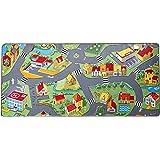 Amazon Com Kids Rug Street Map In Grey 5 X 7 Children