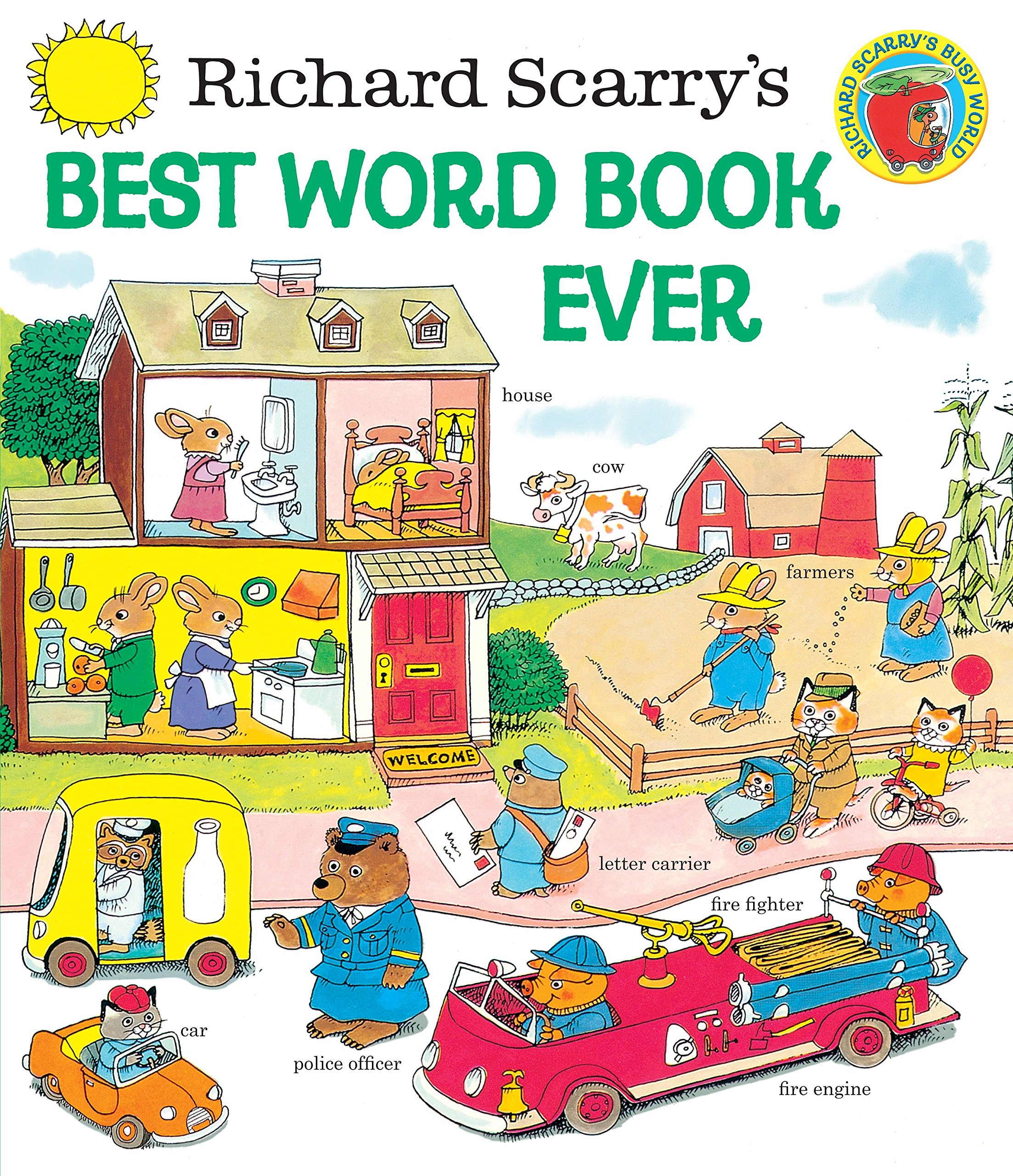 buy richard scarry s best word book ever giant little golden book
