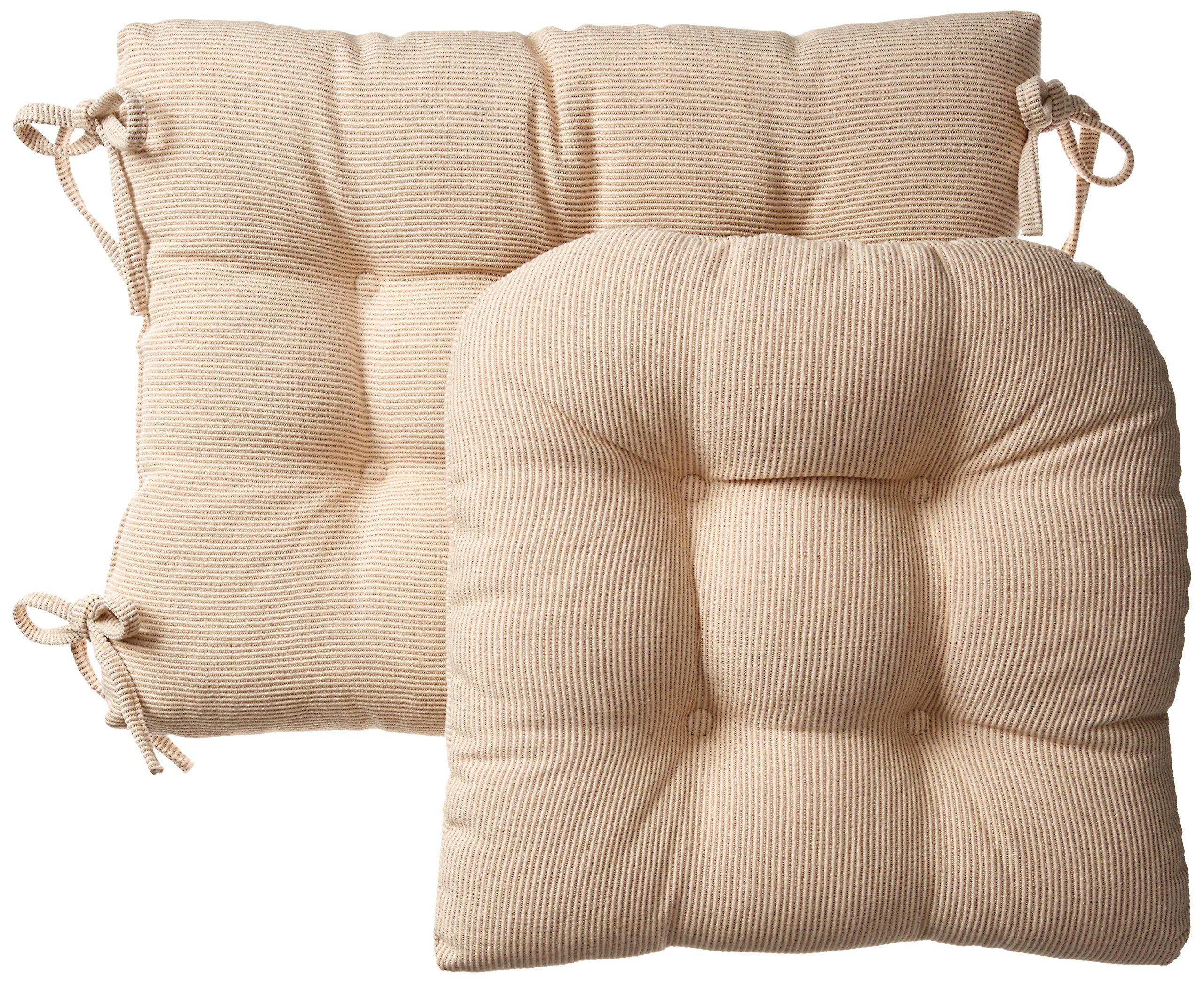 Klear Vu Gripper Jumbo Saturn Rocking Chair Cushion Set, Natural by Klear Vu