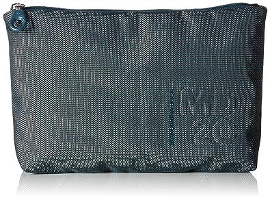Damen Md20 Minuteria Münzbörse, Blau (Petrol Blue), 7.5x14x21.5 cm Mandarina Duck