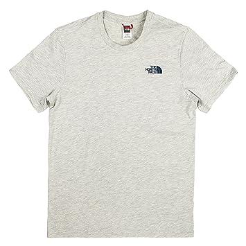 The North Face M S S Simple Dome Te Blue Coral Camiseta 2bc60618e8378