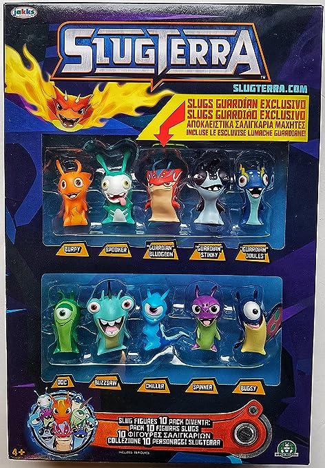 Giochi Preziosi Slugterra - Súper Pack 10 Figuras Slugs: Amazon.es: Juguetes y juegos