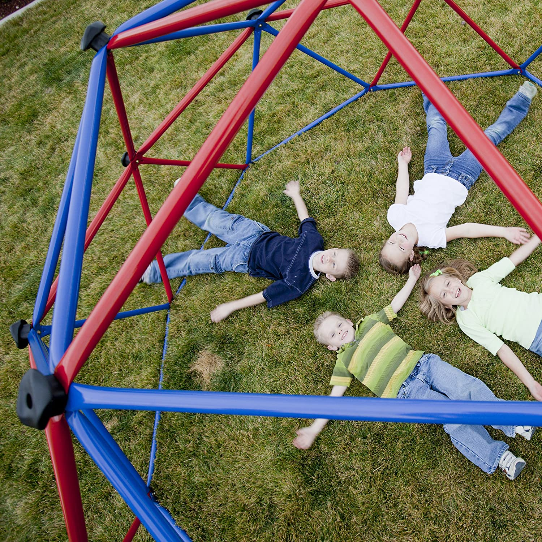 lifetime 101301 geometric dome climber play center primary colors