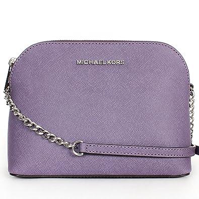 3109ba219a78 ... new style michael kors cindy large wisteria leather crossbody bag 0a345  b82cd ...