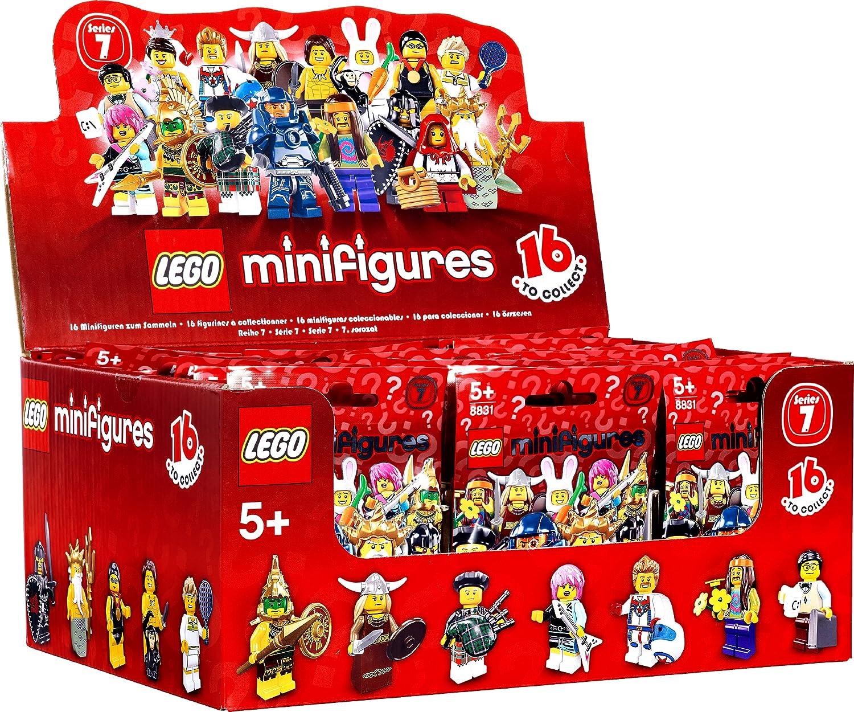 LEGO Minifigures 4648588 Jeugo de constructión, Caja de 60 Piezas ...