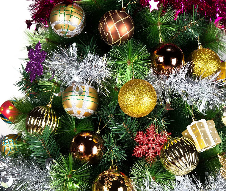 Amazon.com: 20ct Christmas Balls Ornament, Luxury Collection Bronze ...
