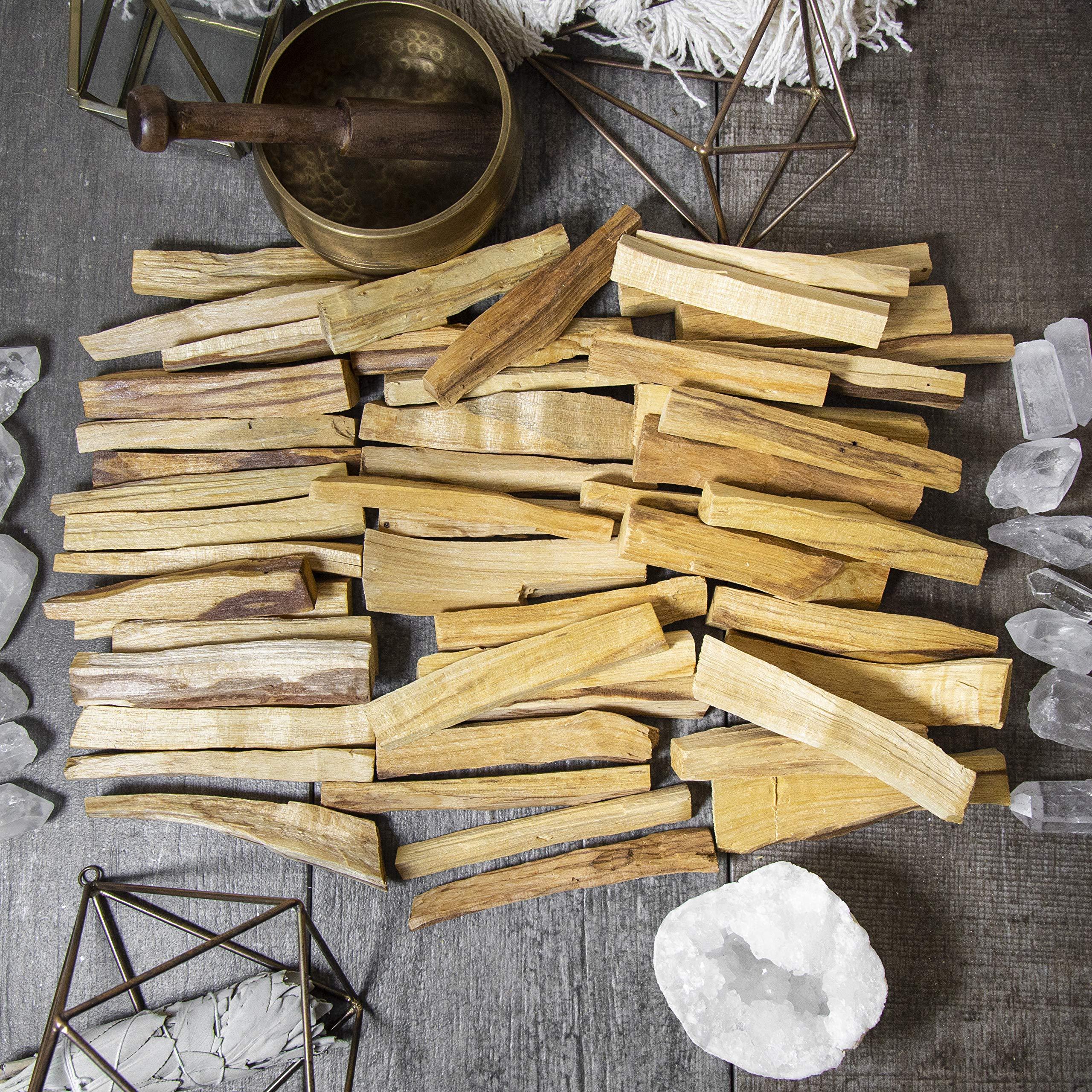 Beverly Oaks A-Grade Palo Santo Sticks - Palo Santo Incense - Palo Santo Smudge Sticks Bulk Lot for Cleansing, Smudging, Meditation and Purification (1 Pound) by Beverly Oaks (Image #4)