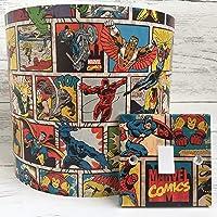 Handmade Marvel Comics Strip Lightswitch or Lampshade