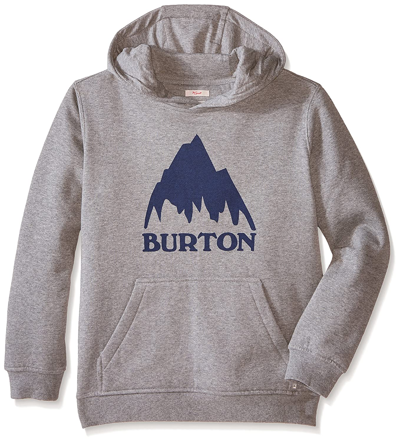 Classic Mountain Pullover Hoodie, Gray Heather, Small Burton 137751