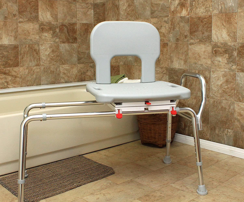 Amazon.com: Bariatric Swivel Sliding Bath Transfer Bench (55662 ...