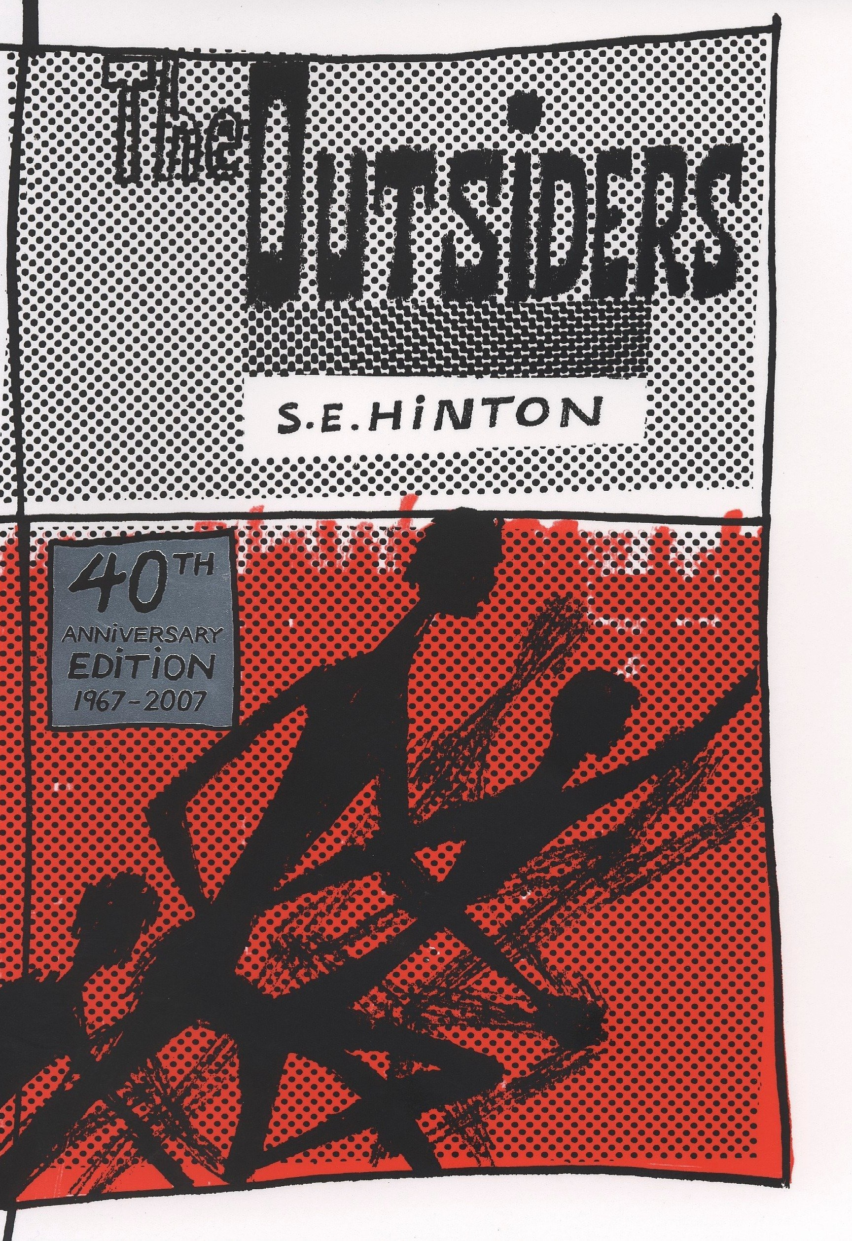 The Outsiders 40th Anniversary edition by Viking Juvenile (Image #1)
