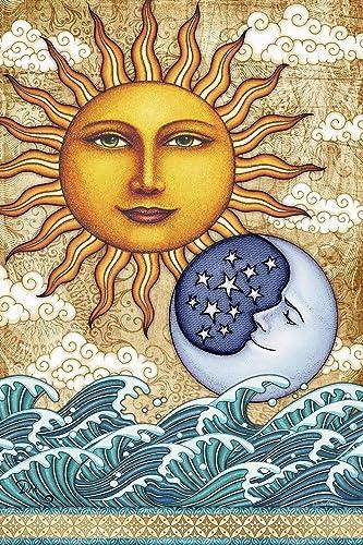 Ocean Sunrise Tapestry by Dan Morris, 26 x40