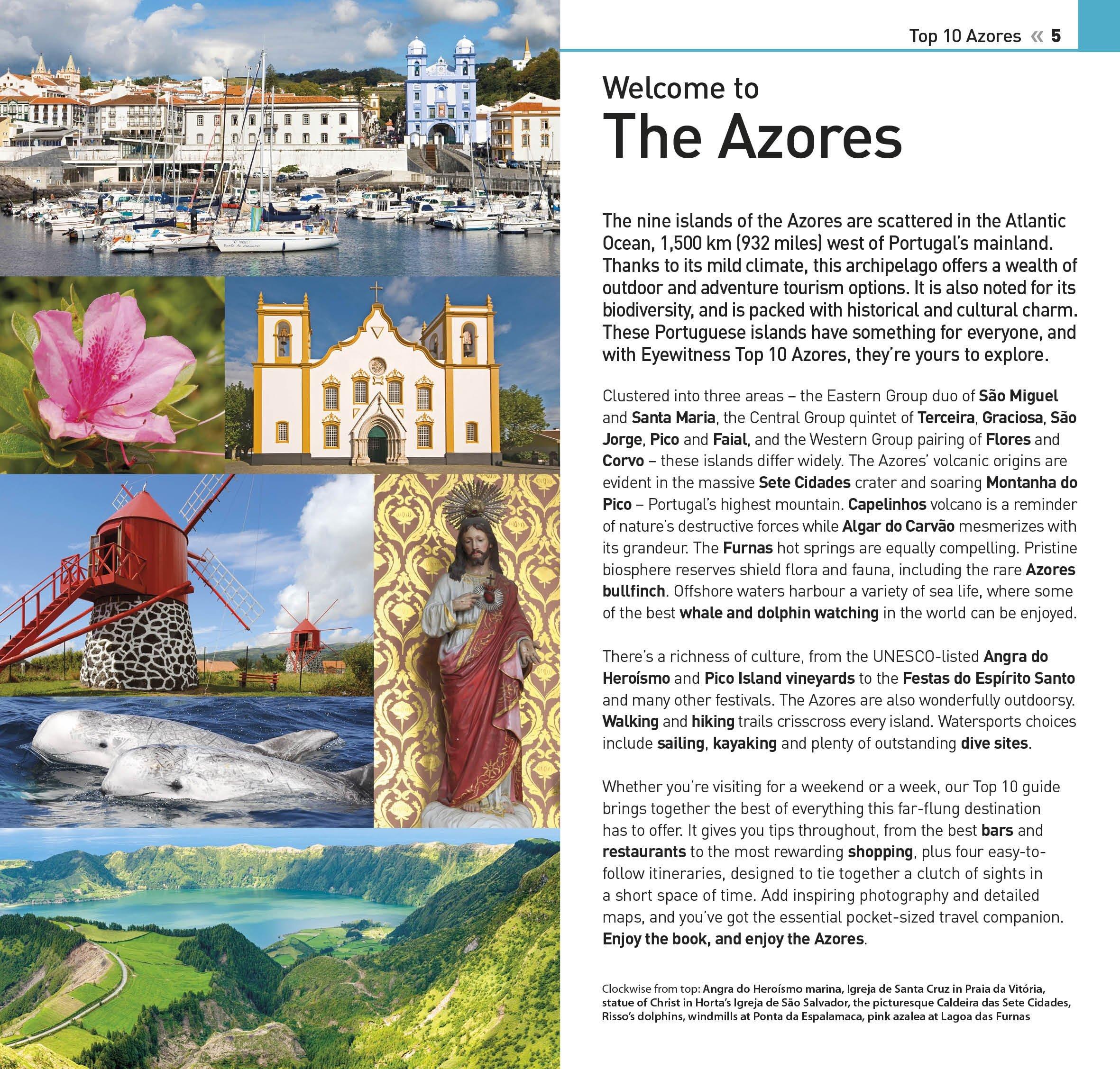 Top 10 Azores (DK Eyewitness Travel Guide)  DK Travel  9781465460646   Amazon.com  Books 69774cc9f