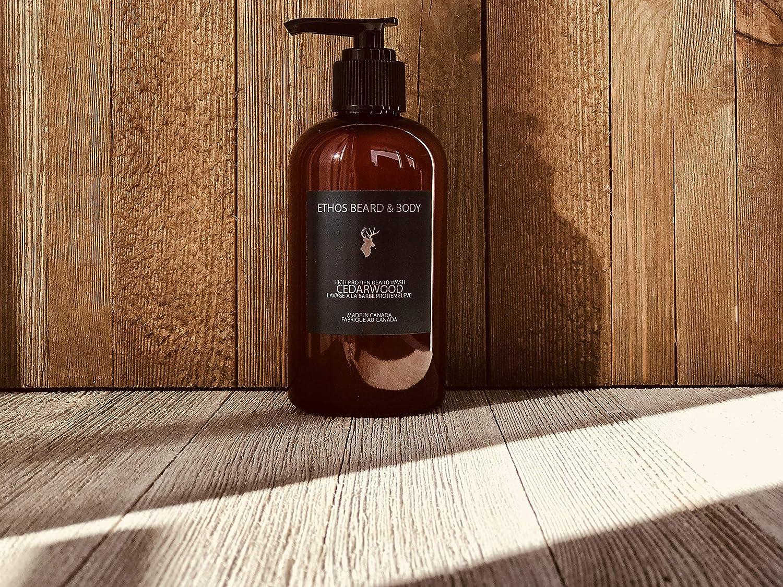 Cedarwood High Protein Beard Wash ETHOS Beard & Body