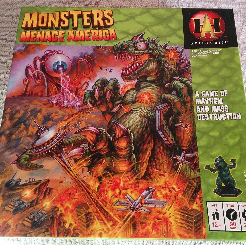 Avalon Hill Monsters Menace America: Amazon.es: Juguetes y juegos