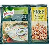 Knorr Classic Mixed Vegetable Soup, 53g with Free Crunchy Croutons