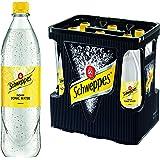Schweppes Indian Tonic Water 6er 1Liter PET (6 x 1l Flasche)