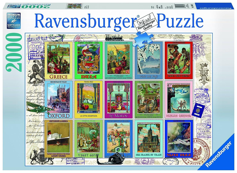 2000ピース ジグソーパズル バケーション B00004TQLZ スタンプ cm) Vacations Stamps Stamps (98 x 75 cm) B00004TQLZ, 記念品 ギフトハーバー:f6f5cdcd --- sharoshka.org