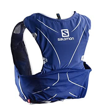 SALOMON ADV Skin 5 Set Mochila Ligera de hidratación para Corriendo/Senderismo, Capacidad 5 L, Unisex Adulto: Amazon.es: Deportes y aire libre