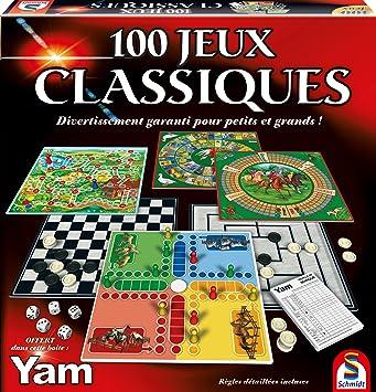 88207 Malette de Jeu 100 Jeux Classiques Schmidt