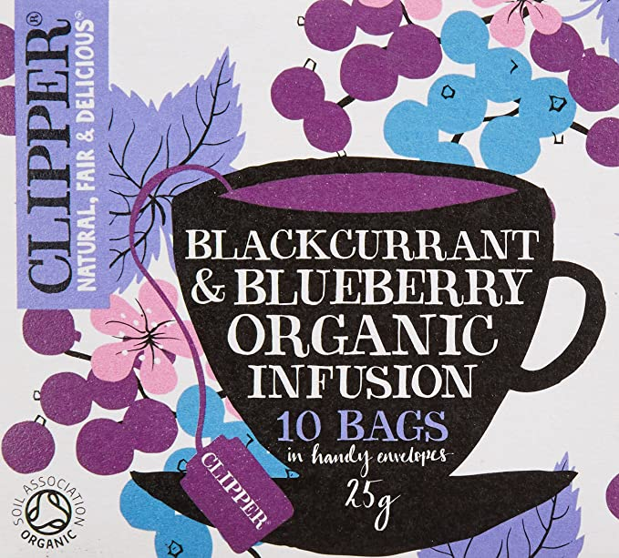 Clipper Teas - Blackcurrant & Blueberry Organic Infusion ...