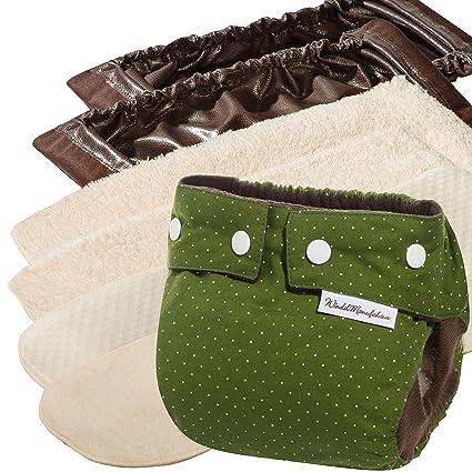 Windelmanufaktur pañales de tela: paquete para principiantes, pañales reutilizables y