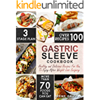 Gastric Sleeve Cookbook: Healthy and Delicious Recipes For You To Enjoy After Weight Loss Surgery (Bariatric Cookbook)