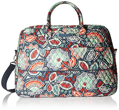 5da8e3c97eb Image Unavailable. Image not available for. Color  Vera Bradley Luggage  Womens Grand Traveler Nomadic Floral ...