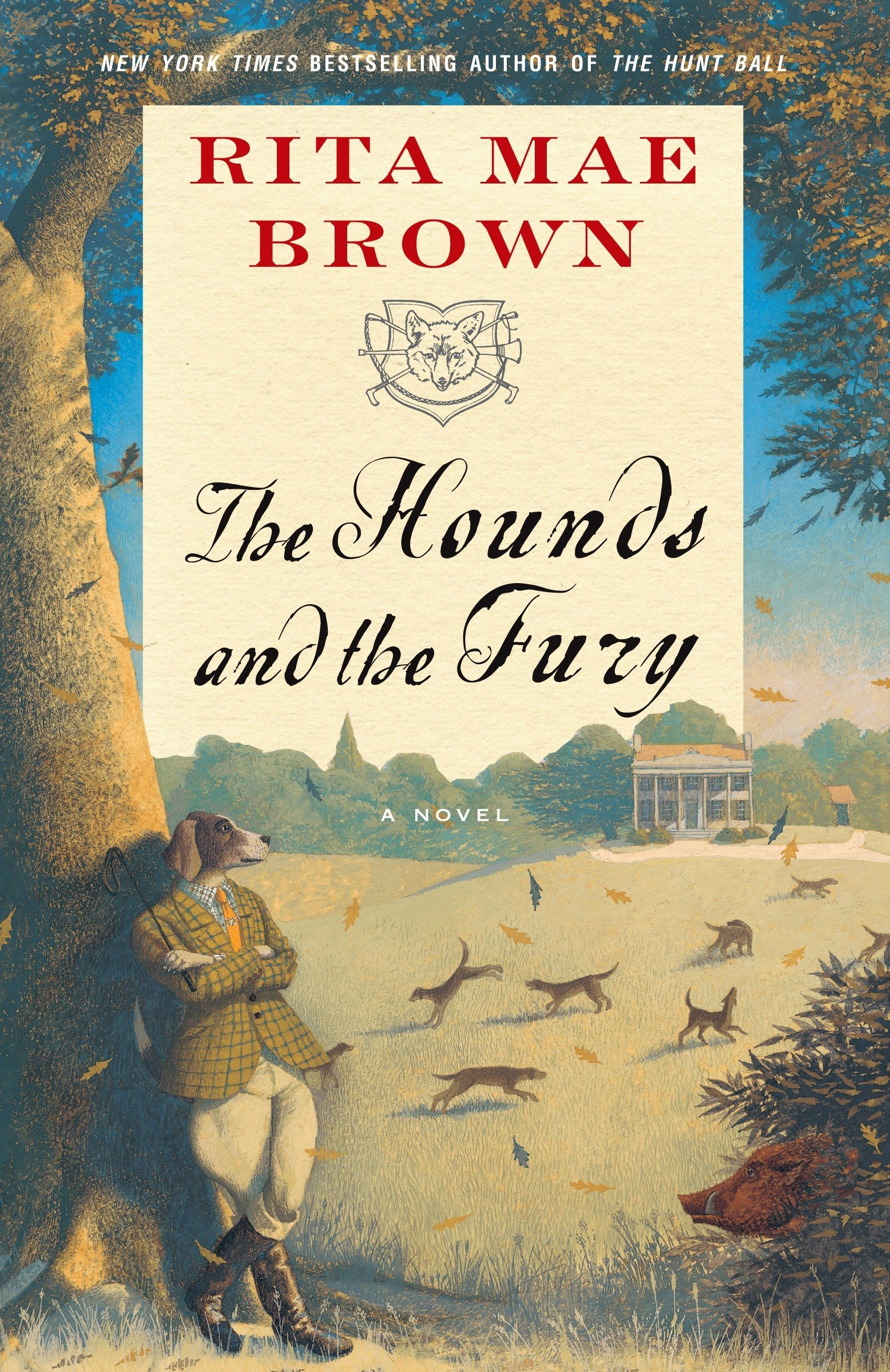 "Amazon.com: The Hounds and the Fury: A Novel (""Sister"" Jane)  (9780345465481): Rita Mae Brown: Books"