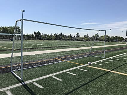 49ff4e13cc6 Pass Premier 24x8 FT. Official Regulation Size Soccer Goal. Strongest Heavy  Duty 2