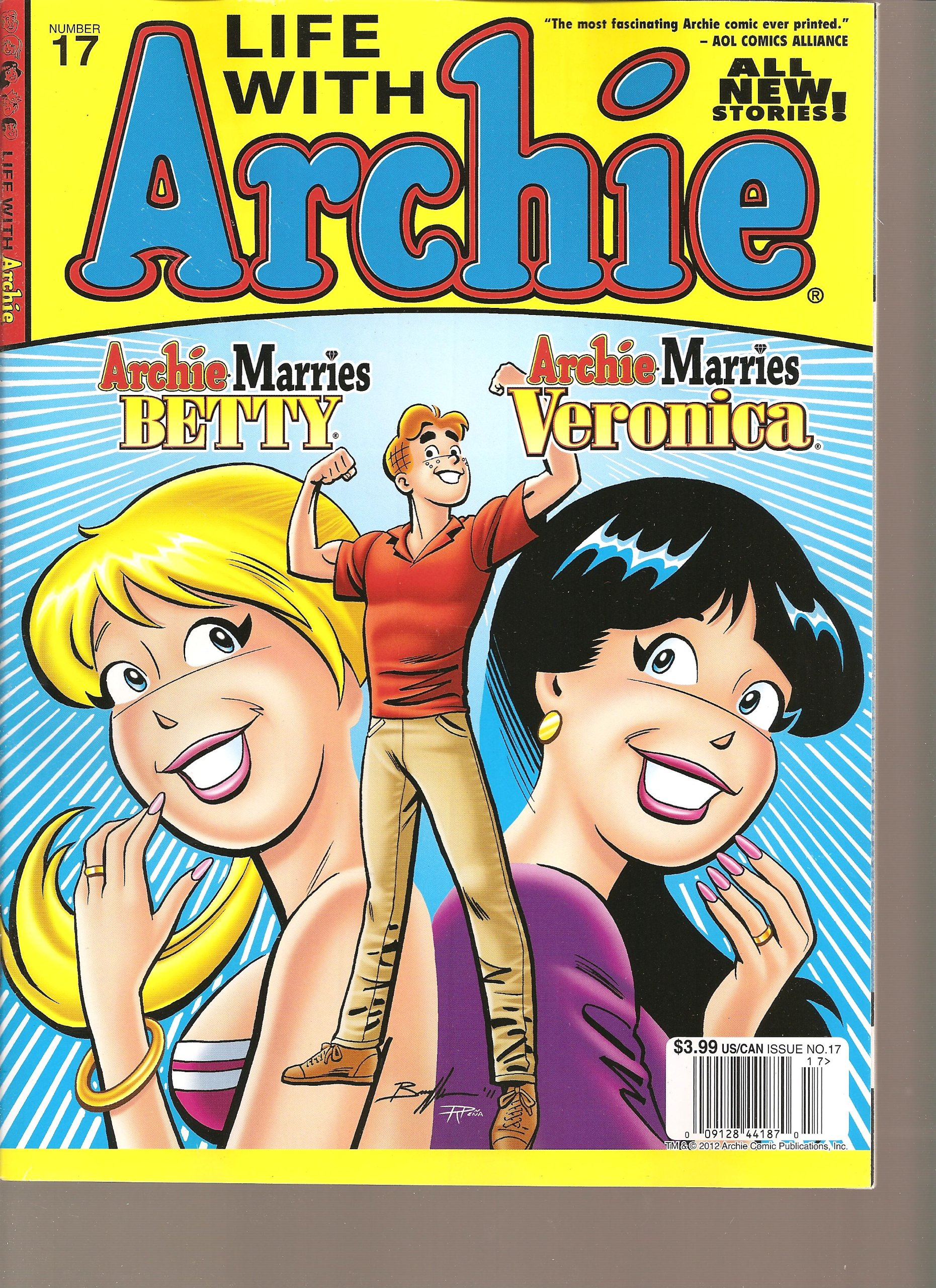 Download Life with Archie Magazine (Archie MArries Betty Archie Marries Veronica, Number 17 2012) ebook