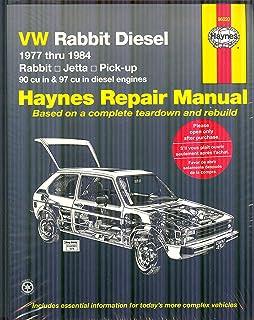 volkswagen rabbit scirocco jetta service manual 1980 1984 rh amazon com Volkswagen Rabbit GTI VW Rabbit