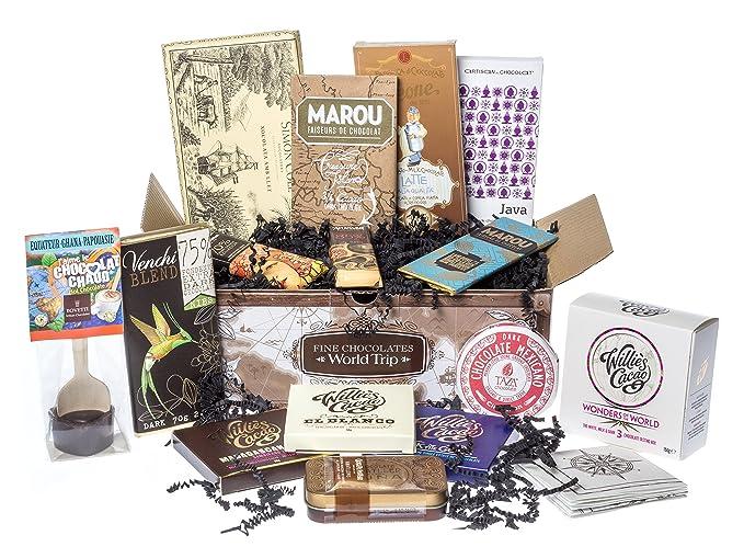 Tesoro de chocolate - Vuelta alrededor del mundo