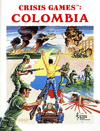Amazon Com Ems Crisis Games Colombia Board Game Of The Long Columbian Civil War Toys Games