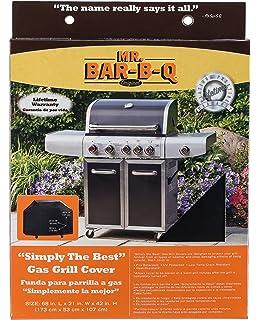 Amazon.com : Mr. BBQ Platinum Prestige Large Grill Cover ...
