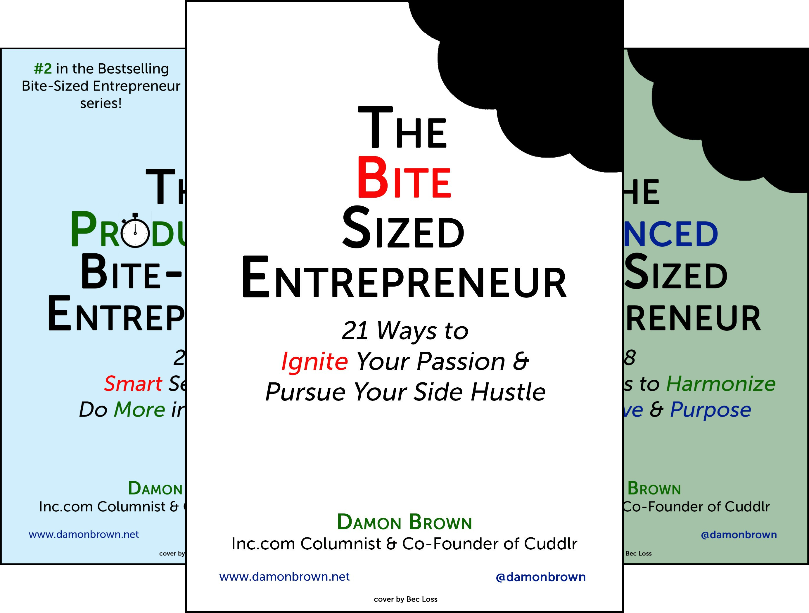 The Bite-Sized Entrepreneur Series (4 Book Series)