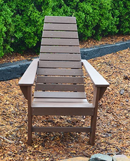 Amazon Com Polywood Outdoor Chair Poly Wood Chairs Contemporary