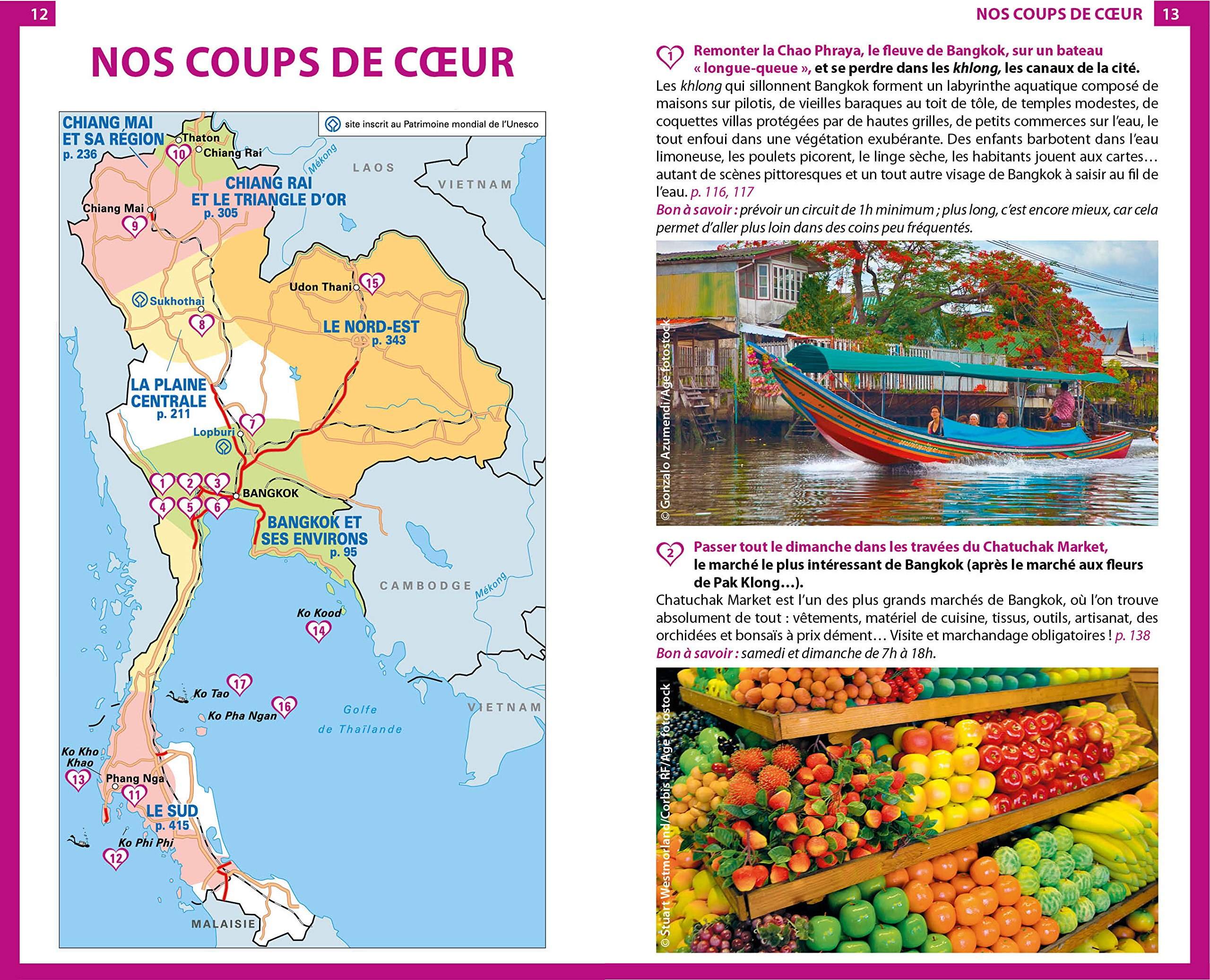 Carte Thailande Le Routard.Amazon Fr Guide Du Routard Thailande 2018 Plongees
