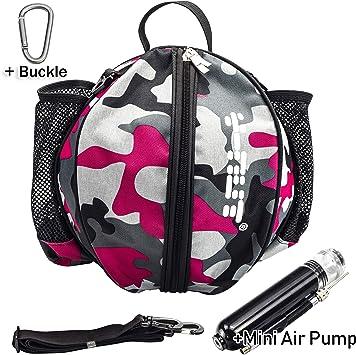Y-Nut Bolsa de Baloncesto con Bomba de Aire Manual de tamaño de ...