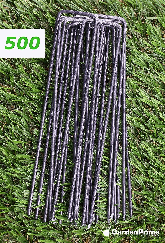 GardenPrime 500 Grapas Metálicas Alambre de Acero 150mm para ...