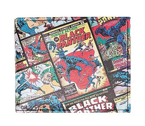 Marvel Black Panther Comic Bifold Billetera