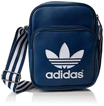 2b1cb1967a5 adidas Adicolor Mini Bag Shoulder Strap Blue Shadow Blue S16-ST White Size