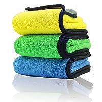 EZEELife Microfiber car Cleaning Drying Towel, 600GSM Ultra-Thick Polishing Washing and Detailing Car Towel Microfiber…