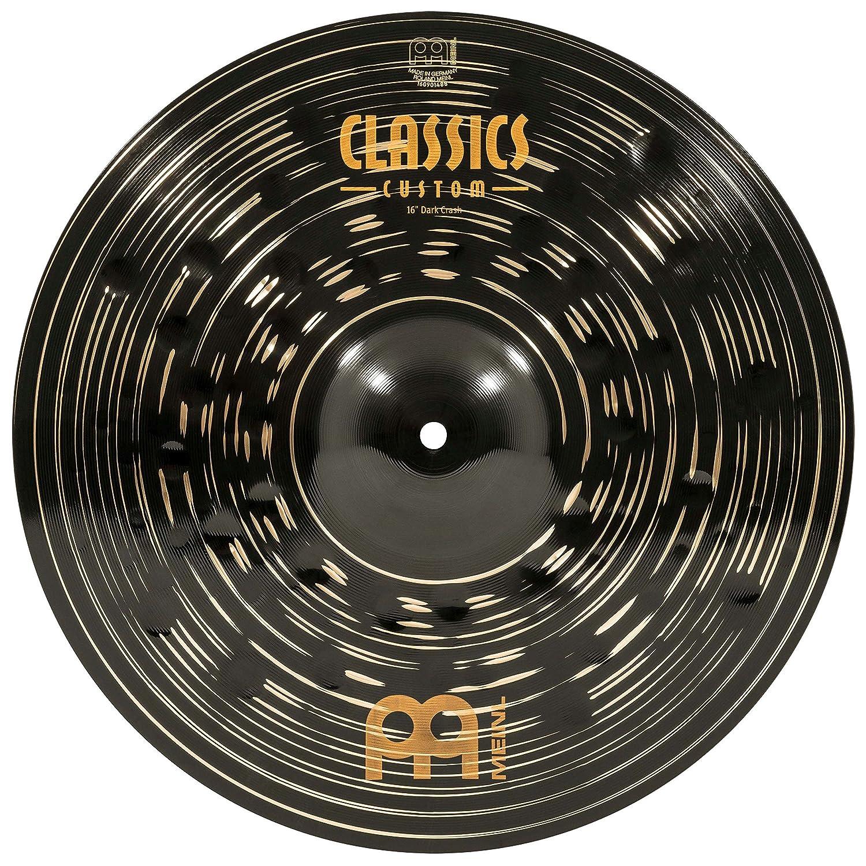 Meinl Cymbals CC16DAC Classics Custom Dark 40, 6 cm (16 Zoll) Crash Becken