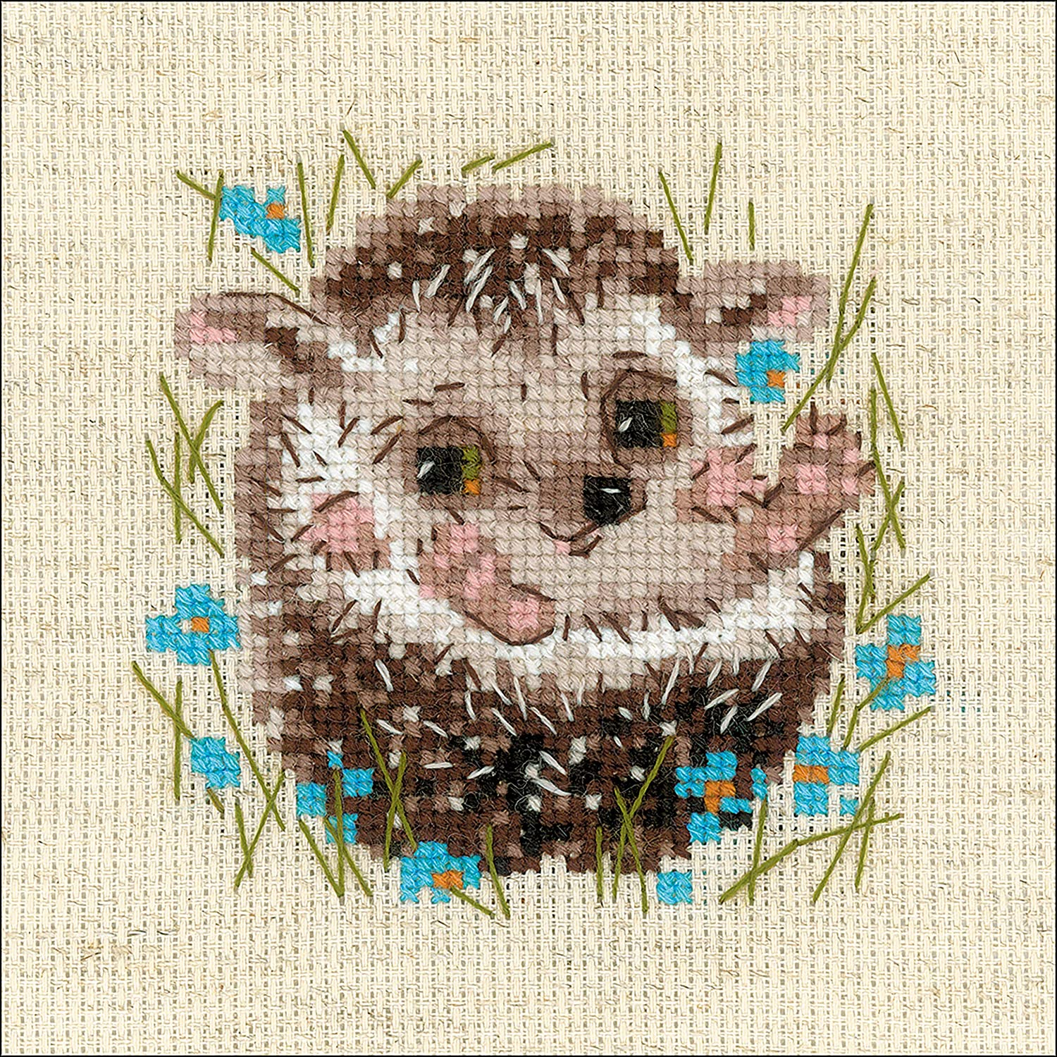 14 RIOLIS R1753 Counted Cross Stitch Kit 5X5 Bouquet of Love