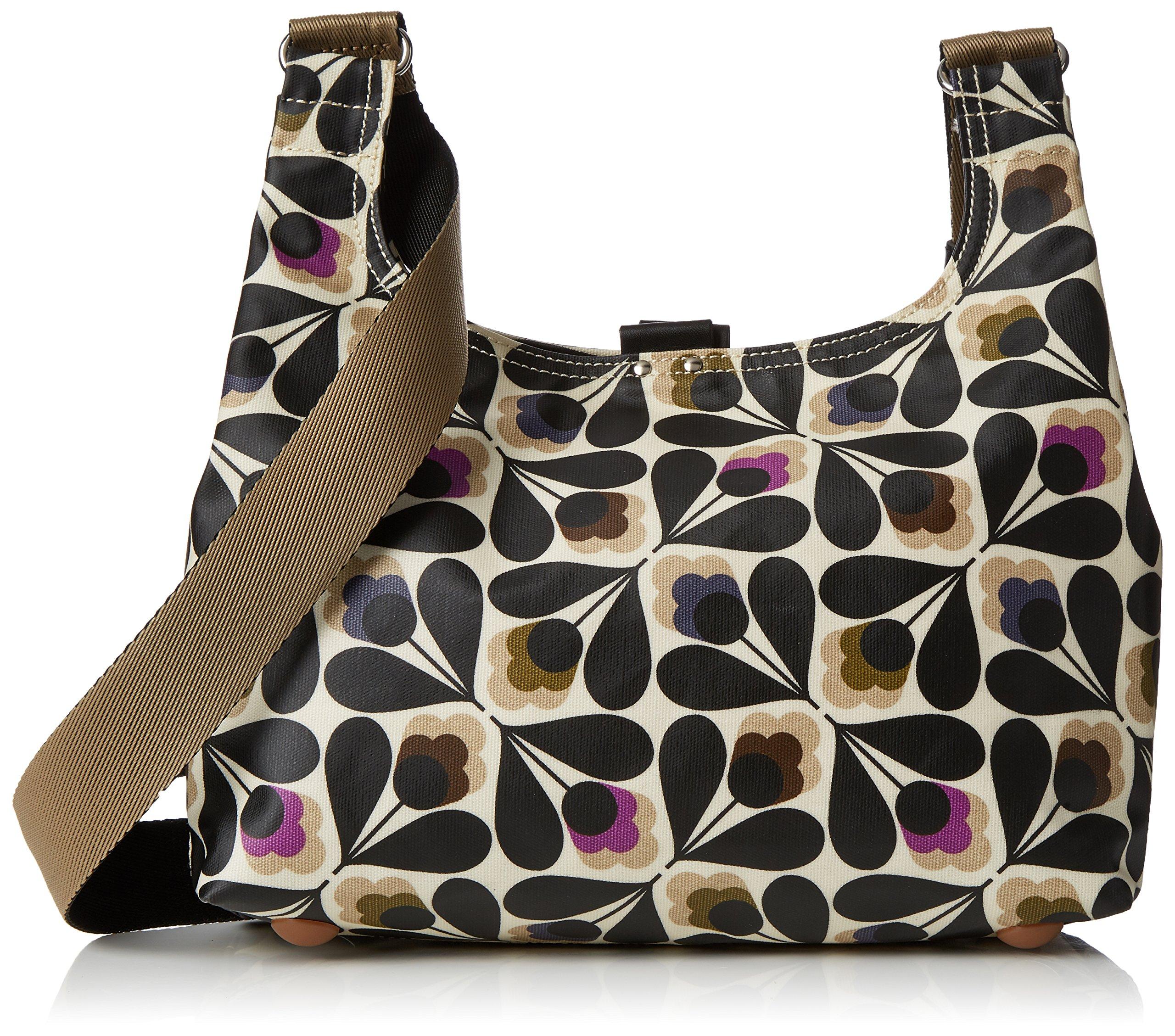 Orla Kiely Matt Laminated Sycamore Seed Print Mini Sling Bag, Multi