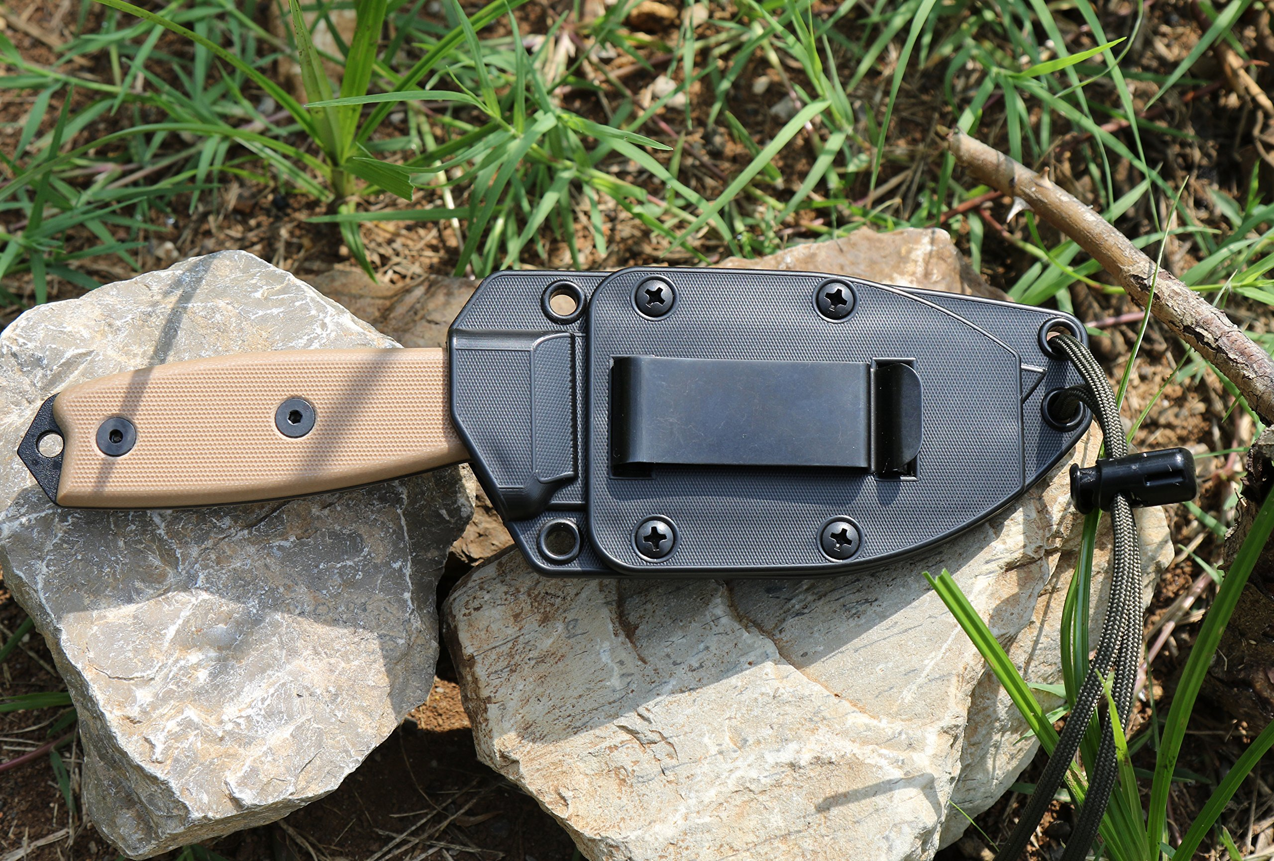 ESEE Knives 3P Fixed Blade Knife with Molded Polymer Sheath by ESEE (Image #4)