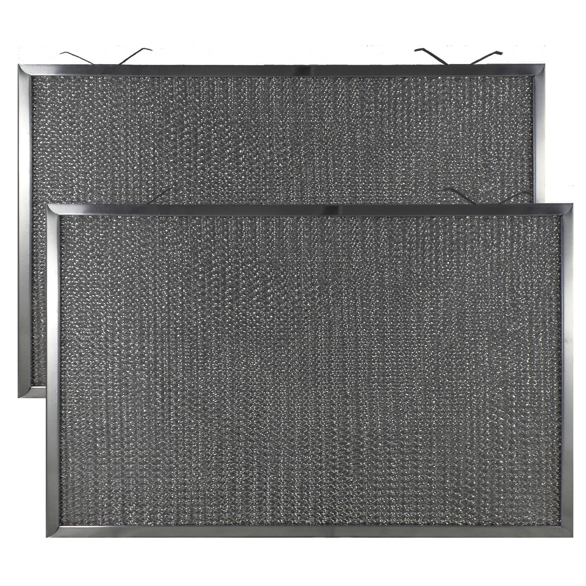 2 PACK Air Filter Factory 11-3/4 X 18-1/4 X 3/8 Range Hood Aluminum Grease Filters AFF203-M