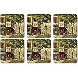Pimpernel Parisian Scenes Coaster