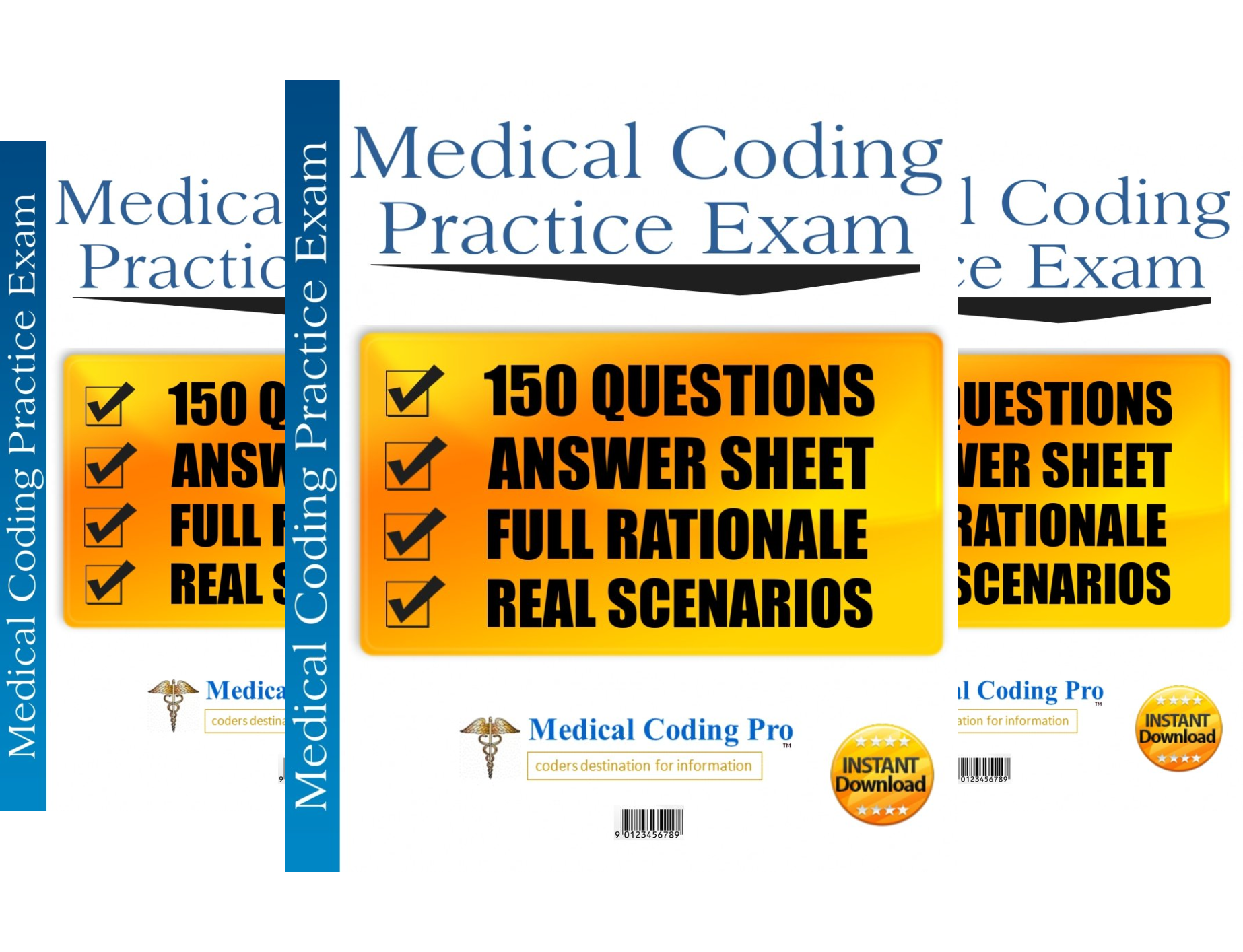 Download Medical Coding Pro Practice Exams (3 Book Series) Pdf
